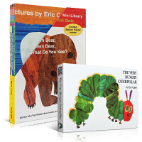 英文原版绘本 5册 Eric Carle brown bear what do you see棕色的熊the very