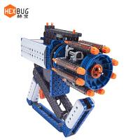 美国发射加特林机关电动儿童积木拼装玩具小男孩子品质定制新品 VEX机器人古典系列-加特林速射枪套装