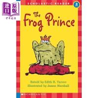 【中商原版】Hello Reader 学乐小读者3级青蛙王子 The Frog Prince Level 3 儿童分级阅