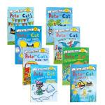 I Can Read Pete the Cat 皮特猫系列7册套装 进口英文原版绘本 低幼儿童启蒙故事图文书 分级阅读