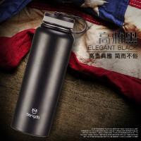 汉馨堂 保温杯 不锈钢运动水壶1200ML大容量水杯子双层保温水壶户外运动