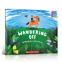 英文原版绘本 Wandering Off 游荡 激发想象力 3-6岁儿童故事书绘本 学乐