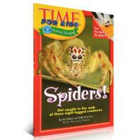 Time For Kids: Spiders!时代儿童百科英文读物昆虫系列蜘蛛绘本