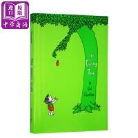 【中商原版】Giving Tree礼物树 英文原版绘本Shel Silverstein儿童寓言故事亲情感恩故事书