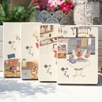 那一年 鸡大厨 原创手帐本包布本册A6日韩创意文具日记本 颜色图案随机当当自营
