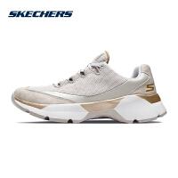 【*注意鞋码对应内长】Skechers斯凯奇女鞋新款厚底复古鞋 透气网布时尚运动鞋 15492