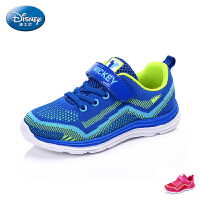 迪士尼2017新款正品中大童运动鞋男童鞋女童鞋透气网鞋学生鞋DS2169
