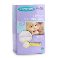Lansinoh防溢乳垫一次性哺乳孕妇防溢乳漏奶贴瞬息乳垫120片超薄