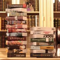 现代仿真书假书道具书装饰书家居创意摆设