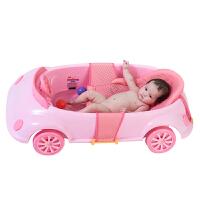 大号宝宝澡盆婴儿浴盆 婴儿洗澡盆宝宝小汽车浴盆可坐可躺
