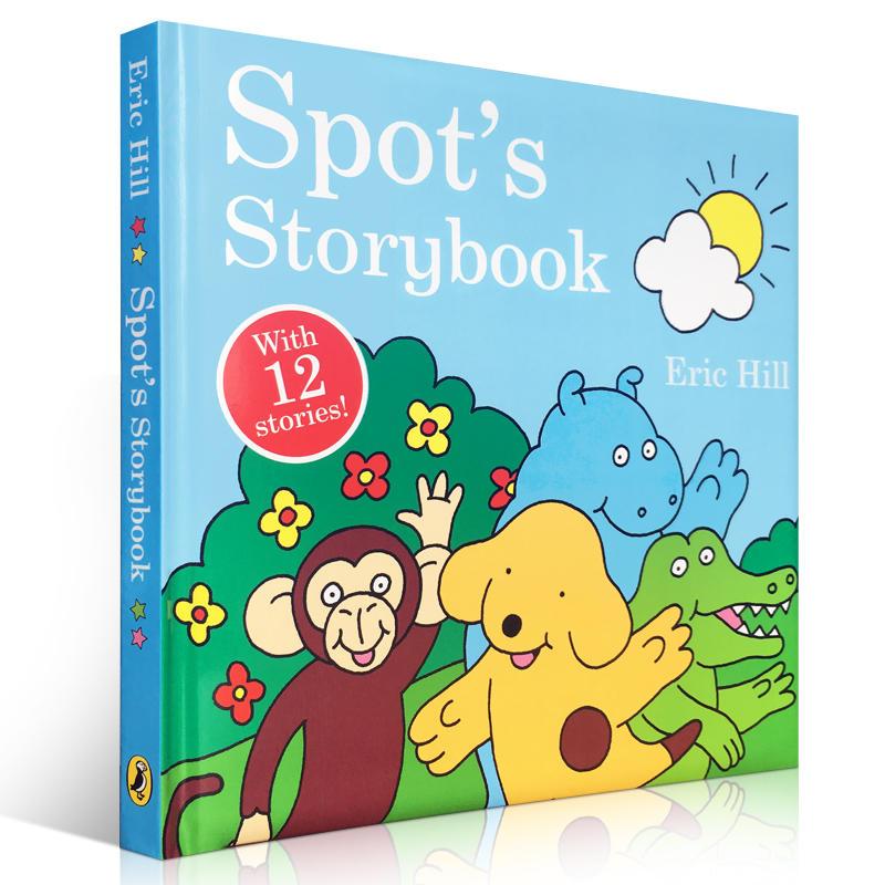 英文原版名家Eric Hill Spot's Storybook 小玻系列12个故事合集