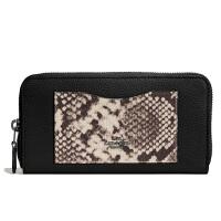 【当当自营】蔻驰(COACH)新款女士鹅卵石皮革钱包卡包手拿包 F57590