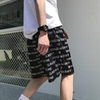网红系列休闲韩版街头沙滩男士短裤五分裤子学生嘻哈INS宽松中裤