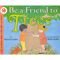 Be a Friend to Trees (Let's Read and Find Out) 自然科学启蒙2:跟大树做