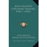 【预订】John Milton's Verlornes Paradies, Part 1 (1822)