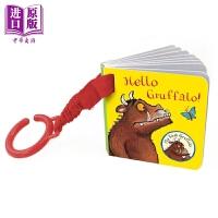 【中商原版】Hello Gruffalo 咕噜牛 挂件手掌书 Julia Donaldson 低幼经典绘本韵律启蒙纸板书