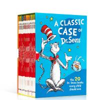 英文原版进口正版 A Classic Case of Dr Seuss 苏斯博士20本全套绘本 廖彩杏推荐睡前故事图书