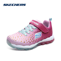 Skehers斯凯奇女童鞋新款魔术贴耐磨防滑气垫运动鞋