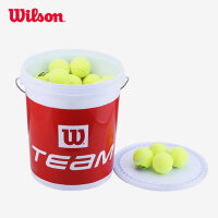 Wilson威尔胜 稳定耐用 专业训练网球 桶装网球 72个装
