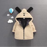 ����棉�\男童加厚棉衣�和�冬�b2018新款秋冬季加�q外套0-1-2-3�q