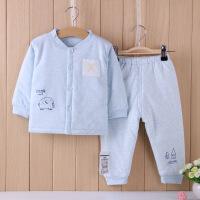 小象逗叮 加厚男女宝宝冬装棉袄套装 长袖立领婴儿棉外套防寒服