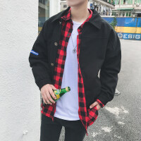 夹克男春秋外套男装修身帅气百搭学生棒球服潮流韩版薄款防晒衣服