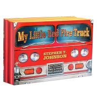 英文原版进口绘本 My Little Red Fire Truck 我的小小消防车 立体玩具书 男孩 凯奖作者操作玩具