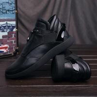 CUM2017冬季男鞋男士高帮鞋休闲鞋青年潮流鞋子
