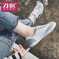 ZHR2018春季新款韩版小白鞋街拍休闲鞋厚底单鞋平底鞋子学生女鞋A31