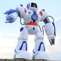 电动跳舞机器人儿童玩具太空战警智能遥控机器人