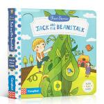 英文原版进口童书 First Stories系列 Jack and the Beanstalk 杰克和豆茎 机关操作活