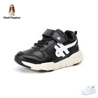 暇步士Hush Puppies童鞋18新款儿童休闲鞋时尚中帮跑步鞋男童运动鞋 (5-15岁可选) DP9384