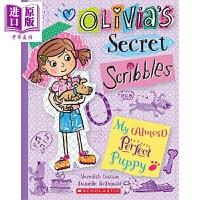 【中商原版】学乐奥莉维亚涂鸦日记2 Olivia's Secret Scribbles2 儿童文学 故事书 插图童书