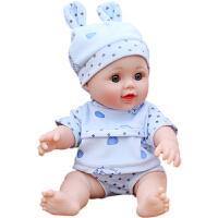 仿真娃娃玩具婴儿全软胶硅胶假宝宝会说话的怡甜芭比小女孩洋娃娃