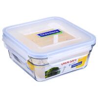 Glasslock 三光云彩韩国进口钢化耐热玻璃保鲜盒玻璃饭菜盒碗便当盒收纳盒1650ML OCST-165