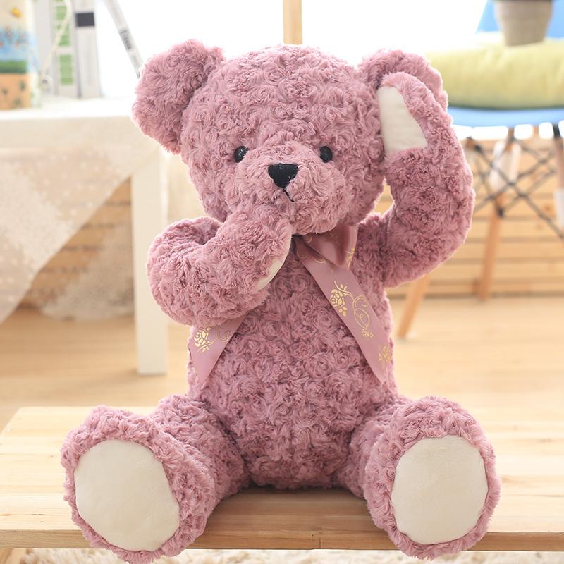 可爱熊毛绒玩具小布娃娃女生儿童抱抱熊公仔女孩公主抱睡