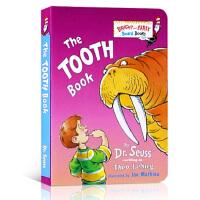 英文原版绘本 The Tooth Book 爱护牙齿 苏斯博士启蒙入门幽默逗趣纸板 引导养成好习惯0-3岁口袋版图画书