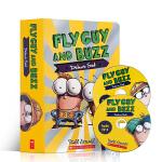 英文原版 Fly Guy And Buzz 苍蝇小子分级读物15册附2CD英语初级章节桥梁书 儿童趣味读物 中小学生课外阅读 Tedd Arnold
