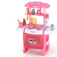 过家家儿童厨房玩具仿真厨房男宝宝厨具女孩煮饭做饭玩具套装