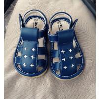 儿童凉鞋男宝宝婴幼儿鞋子小童男童鞋夏小孩叫叫鞋