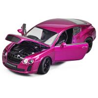 宾利欧陆汽车模型 威利FX 1:24 精品车模 宾利合金车模 仿真模型