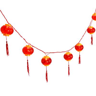 【1串价】发光水晶小灯笼猪年春节过年装饰挂件布置新年喜庆红灯笼挂饰惊喜的礼物节日礼品新年元旦礼物