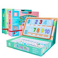 磁性拼图儿童早教数字母玩具3-6周岁4男孩女童宝宝拼拼乐