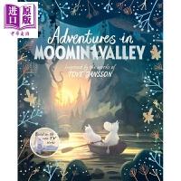 【中商原版】Amanda Li:姆明谷历险 Adventures in Moominvalley 探险历奇 儿童文学 故