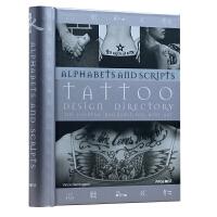 TATTOO DESIGN DIRECTORY:ALPHABETS AND SC 纹身设计目录 字母造型 艺术刺身图案参考书籍