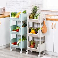 厨房置物架落地多层菜篮子玩具零食收纳架水果蔬菜储物架