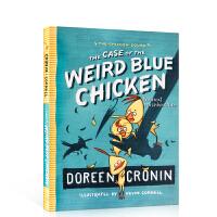 小鸡特工队 英文原版The Case of the Weird Blue Chicken:The Next Misadv