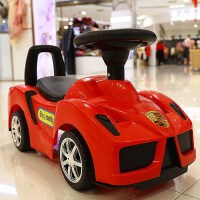法拉利多功能儿童扭扭车1-3岁宝宝滑行车四轮带音乐溜溜玩具车