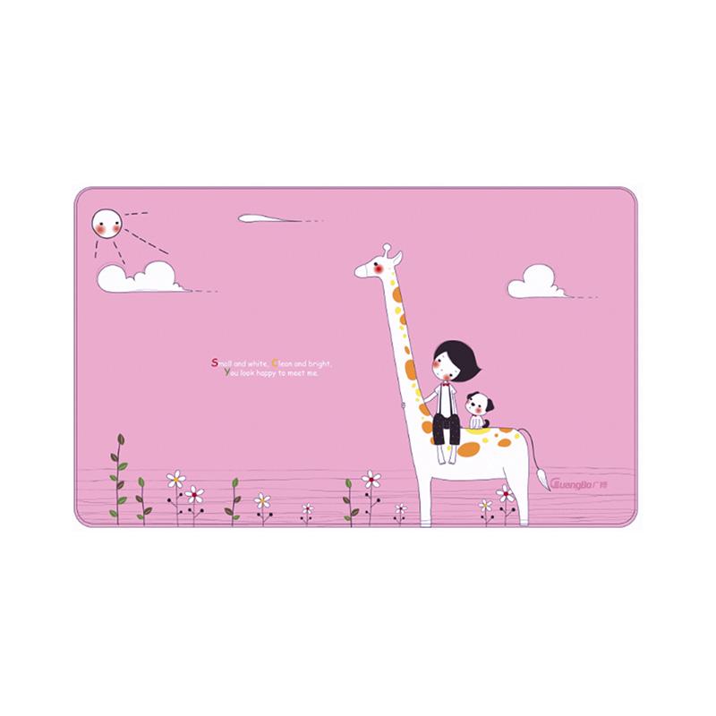 广博(GuangBo)大号书写桌垫600*360mm/办公学习用品 小动物NC2881