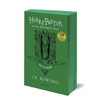 Harry Potter and the Philosopher's Stone Slytherin 哈利波特与魔法石 平装【英文原版 斯莱特林20周年纪念版 JK罗琳】